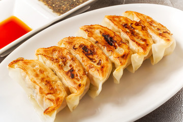 焼き餃子  Pot Sticker food