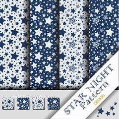 Star Night Pattern