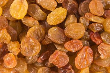 close up of raisins