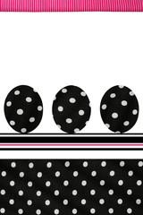 Polka Dots Easter Eggs