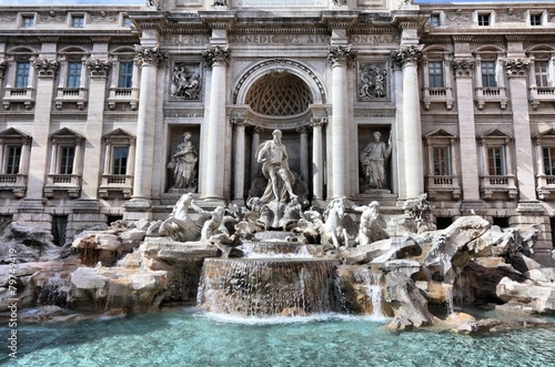 Tuinposter Fontaine Trevi fountain in Rome