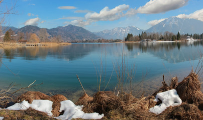 Ringsee-Bucht am Tegernsee