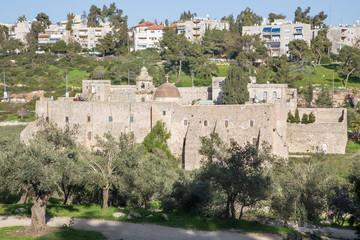 Jerusalem - Monastery of the Cross.