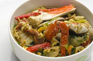 Spicy Thai Crab Soup