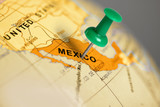 Location Mexico. Green pin on the map. - 79751448