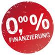 Button Stempel 0 Prozent Finanzierung