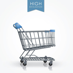 High detalisation shopping cart