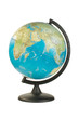 Leinwanddruck Bild - Earth globe isolated on the white background with clipping path