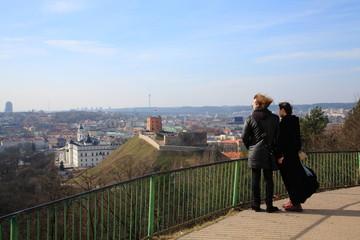Vilnius,panorama of the city