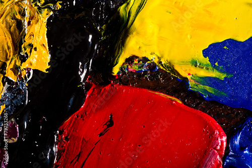 Plakat abstract artwork background painting