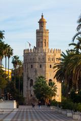 Torre del Oro. Seville, Andalusia