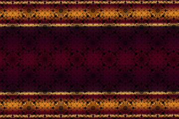 patterned background with burgundy and yellow stripes