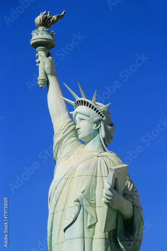 Keuken foto achterwand Las Vegas Close up of Replica of Statue of Liberty, New York - New York ho