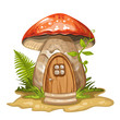 House for gnome made from mushroom - 79758690