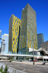 Veer twin towers in Las Vegas, Nevada, USA