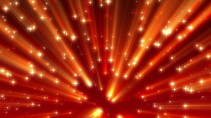 Warm Moving Abstract Stars Strong Shine Background Loop 4