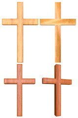 Wooden Cross 3D Set 2