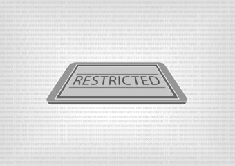 Restricted data and protection standard for digital documents