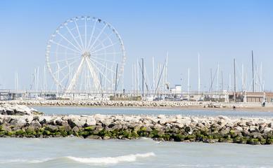 Rimini and the ferris wheel