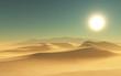 3D desert scene - 79761286