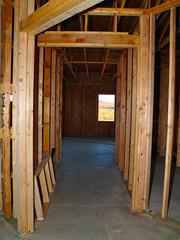 Unfinished Hallway