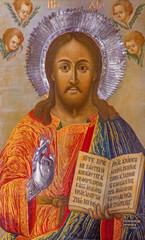 Jerusalem - The icon of Jesus Christ the Teacher
