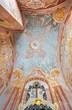 Banska Stiavnica - fresco in lower church of baroque calvary