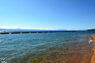 Clear water of Lake Tahoe, Nevada, USA
