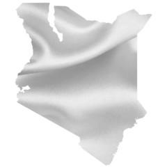 ケニア 地図 シルエット