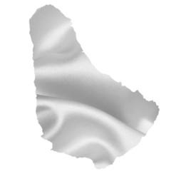 バルバドス 地図 シルエット