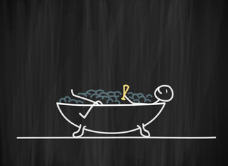 tafel mk freistehende badewanne I