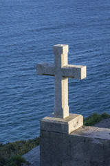 Cruz del faro de Finisterre