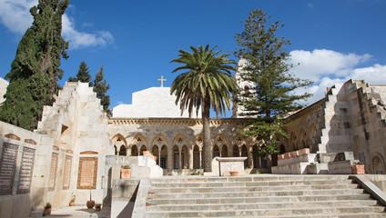 Jerusalem - Church of the Pater Noster on Mount of Olives.