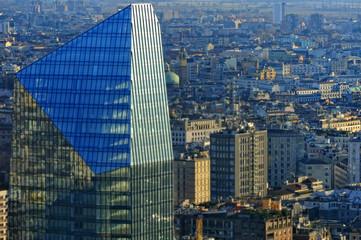 Milano dall'alto - Palazzo uffici a Milano - Porta Nuova