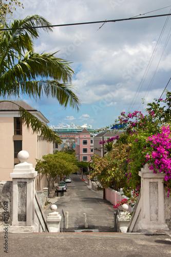 Fotobehang Caraïben Nassau Cityscape