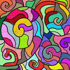 color art composition
