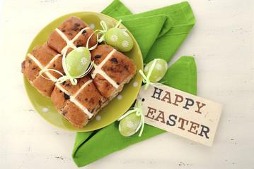 Easter Fruit Hot Cross Buns