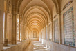 Leinwandbild Motiv Jerusalem - corridor of atrium in Church of the Pater Noster