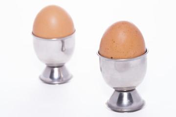 Huevos cocidos.