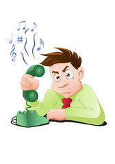 busy telephone