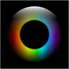 digital dots eye