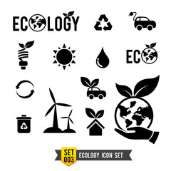 Icon set 003 Ecology icon collection