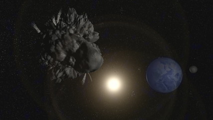 Near Earth Asteroid Animation
