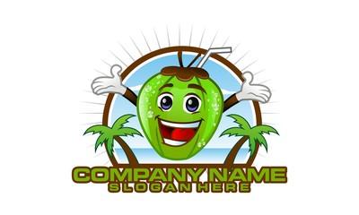 coconuts logo icon vector