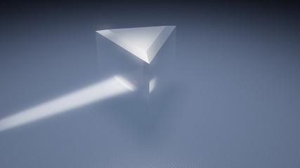 Prism Light Spectrum With Glare