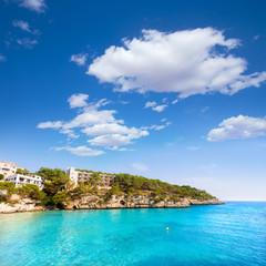 Majorca Cala Santanyi in Mallorca Balearic island