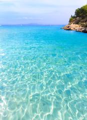 Mallorca Cala Vinyes Vinas beach Calvia Mallorca