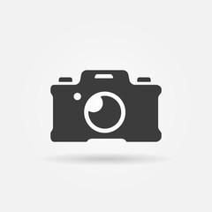 Photo camera icon or logo