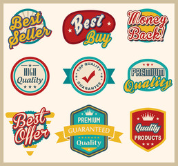 Label and Badge Collection