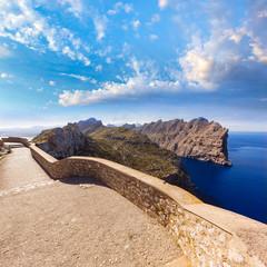Majorca mirador Formentor Cape Mallorca island